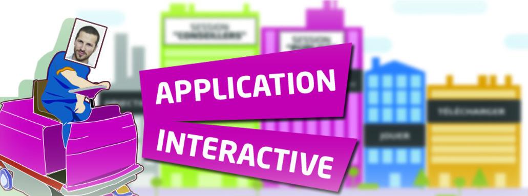 Application interactive